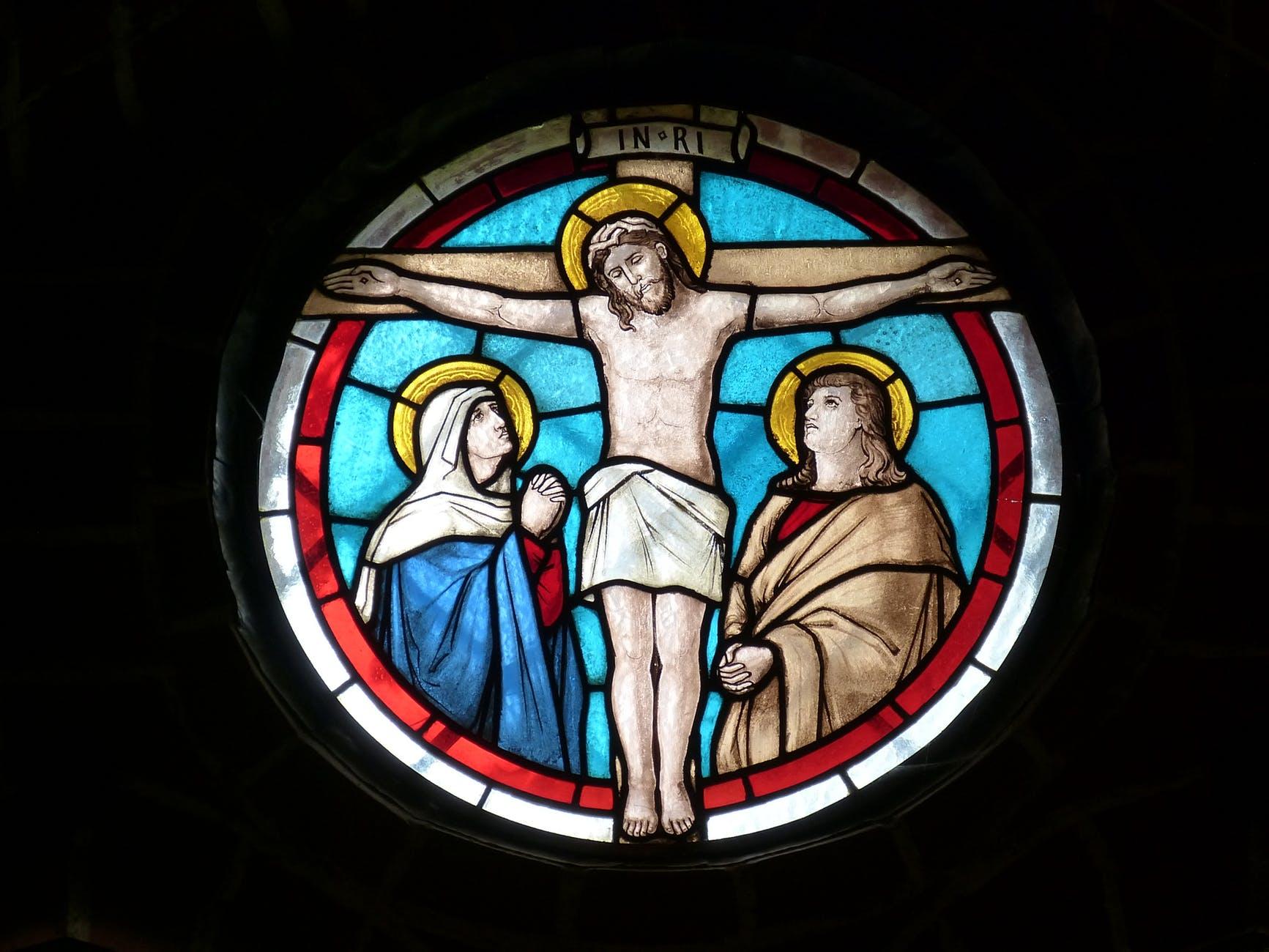 window church crucifixion church window